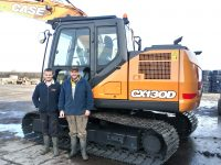 Case Excavator Number 11 For DR Swain And Son  !!!!.