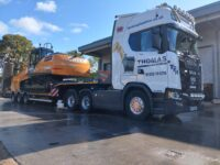 New Case CX210DLong Reach and CX130DLR delivered to Thomas Plant Hire !!